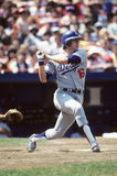 Rick Monday. Los Angeles Dodgers OF Rick Monday. (Image taken from color slide Stock Photography