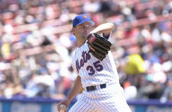 Rick Reed. New York Mets pitcher Rick Reed.  Image taken from color slide Stock Photo