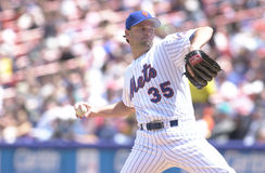 Rick Reed. New York Mets pitcher Rick Reed. Image taken from color slide Royalty Free Stock Photography