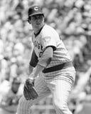 Rick Reuschel. Chicago Cubs pitcher Rick Reuschel.  (Image taken from the B&W negative Royalty Free Stock Photo