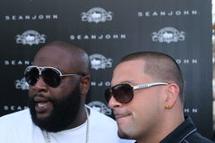 Rick Ross and DJ Pro Style #3 Stock Image