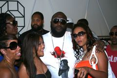 Rick Ross at Sean John Pop Up Store #2 Royalty Free Stock Photos
