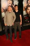Rick Schroder avec le fils Holden #2 Photo libre de droits