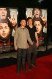 Rick Schroder com filho Holden #1 imagem de stock