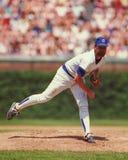 Rick Sutcliffe, jarra, Chicago Cubs foto de archivo libre de regalías