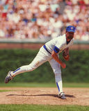 Rick Sutcliffe, lanceur, Chicago Cubs photo libre de droits
