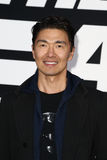 Rick Yune. NEW YORK-APR 8: Actor Rick Yune attends the premiere of `The Fate of the Furious` at Radio City Music Hall on April 8, 2017 in New York City Stock Images