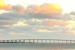 Rickenbacker Causeway in Miami Stock Images