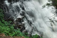 Ricketts Glen State Park Waterfall Detail Royalty Free Stock Photography