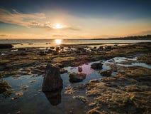 Ricketts Point Beach Rockpool stock photos