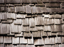 Ricketty wooden roof Royalty Free Stock Photos