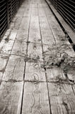 Rickety bridge Royalty Free Stock Photography