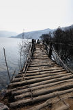 Rickety bridge Stock Images