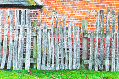 Rickety fence Royalty Free Stock Images