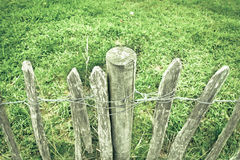 Rickety fence Stock Photography