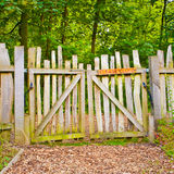 Rickety gate Stock Photography