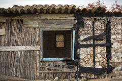 Rickety hut Royalty Free Stock Photo