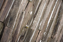 Rickety old barn wall wooden texture Royalty Free Stock Image