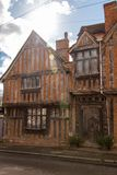 Rickety old house in Lavenham, Suffolk royalty free stock image