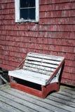 Rickety wooden bench Royalty Free Stock Photos
