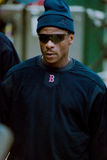 Rickey Henderson, les Red Sox de Boston Image stock