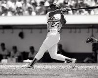 Rickey Henderson, Oakland Athletics fotos de stock