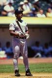 Rickey Henderson San Diego Padres Stock Photo