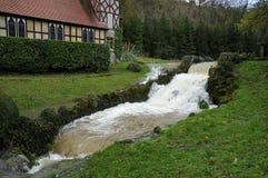 Rickford Chuch na inundação foto de stock royalty free