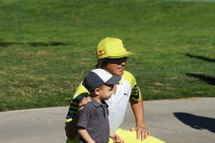 Rickie Fowler 2012 Farmers Insurance Open Royalty Free Stock Image