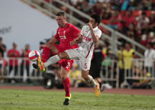 Rickie Lambert of Liverpool Royalty Free Stock Images