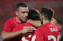 Rickie Lambert of Liverpool Royalty Free Stock Photos