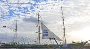 Rickmer Rickmers, парусное судно - 3 masted барк Hamb Стоковое Фото
