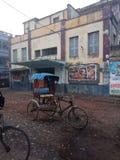 rickshaw lizenzfreies stockfoto