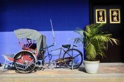 Rickshaw Royalty Free Stock Photo