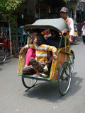 Rickshaw Royalty Free Stock Images