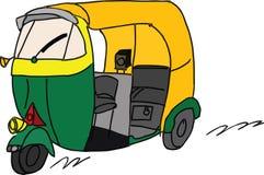 Rickshaw vector illustration