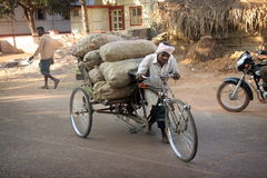 rickshaw Fotografia de Stock