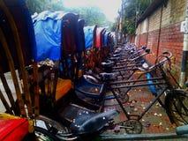 rickshaw Royaltyfri Fotografi