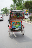 Rickshaw Art Royalty Free Stock Images