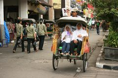 Rickshaw Stock Photo