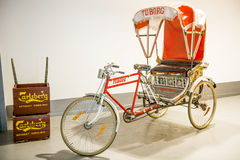 Rickshaw bicycle Stock Images
