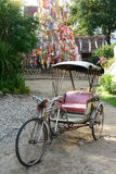 Rickshaw bicycle Royalty Free Stock Photos