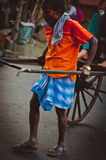 Rickshaw in Calcutta Stock Image