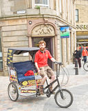 Rickshaw comes to Inverness ! Royalty Free Stock Photos