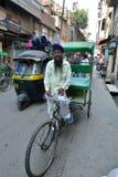 Rickshaw Driver Stock Image