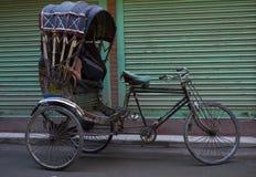 Rickshaw Driver Stock Photo