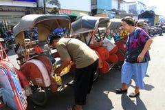 Rickshaw Stock Photography