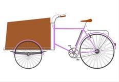Rickshaw royaltyfri illustrationer
