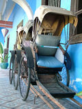 Rickshaw Front View Royalty Free Stock Photo