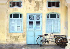 Rickshaw. Georgetown, Malaysia Royalty Free Stock Photography